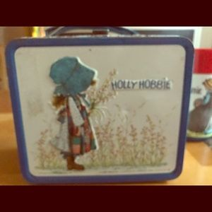 Other - Vintage Holly Hobbie lunch box and Thermos